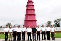 参观考察红塔集团-学习红塔集团管理创新与对标管理