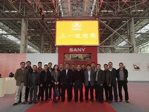 上海三一重机参观考察-学习三一重机智能制造