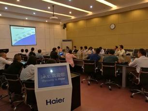 参观海尔集团-学习海尔企业文化与特色的OEC管理