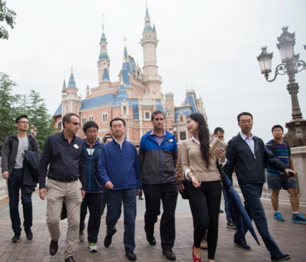 上海Disney考察学习:参观迪士尼乐园