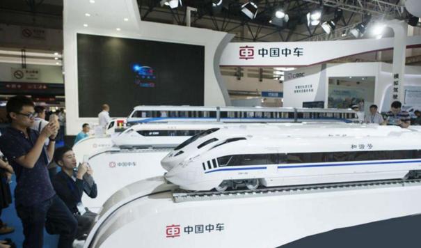 株洲中车参观,考察学习中国中车的赶超之道